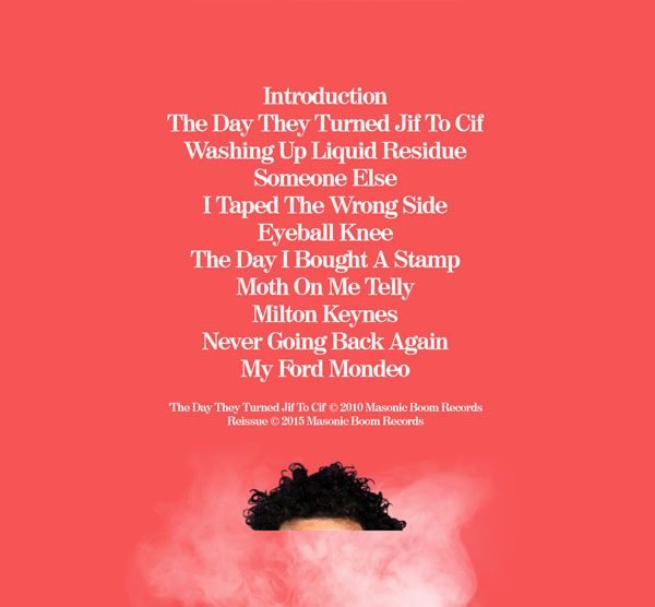 Elliot Mason - The day they turned jif to cif cd track list