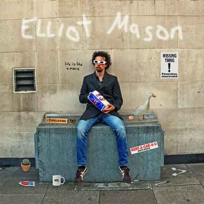 Elliot Mason Life Is Like A Movie Album Cover