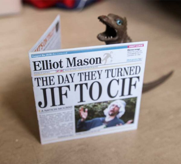 The Day They Turned Jif To Cif by Elliot Mason CD