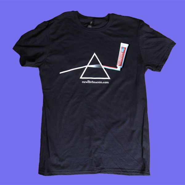 Elliot Mason Dark side of the toothpaste T Shirt
